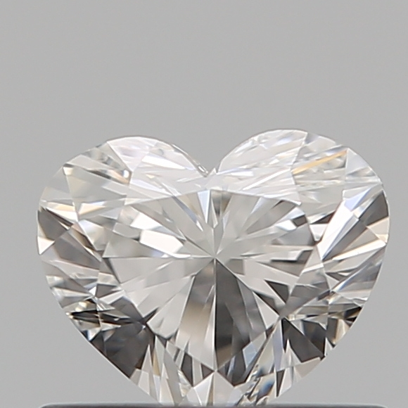 0.50 Carat Heart Loose Diamond, F, VS2, Super Ideal, GIA Certified | Thumbnail