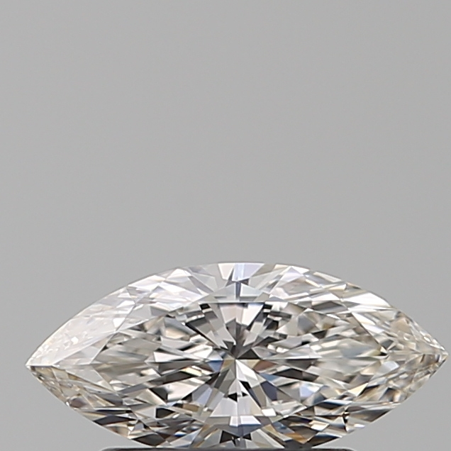 0.50 Carat Marquise Loose Diamond, H, VS1, Super Ideal, GIA Certified