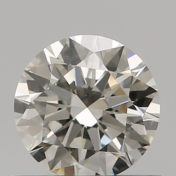 0.53 Carat Round Loose Diamond, I, VS1, Super Ideal, GIA Certified