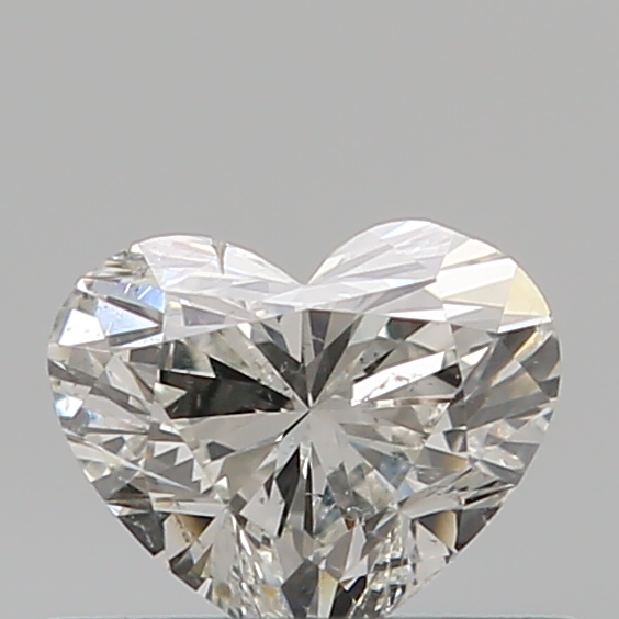 0.40 Carat Heart Loose Diamond, H, SI1, Ideal, GIA Certified