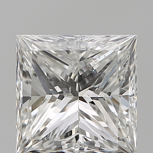 1.20 Carat Princess Loose Diamond, F, SI2, Ideal, GIA Certified