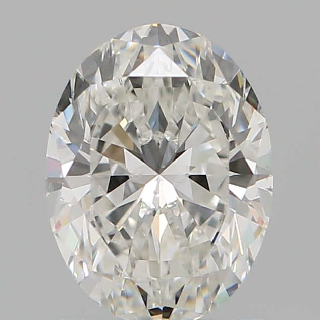 1.02 Carat Oval Loose Diamond, G, SI1, Super Ideal, GIA Certified