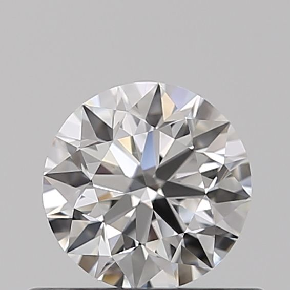 0.42 Carat Round Loose Diamond, F, VVS1, Super Ideal, GIA Certified