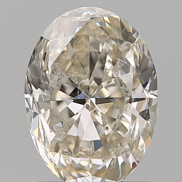 1.20 Carat Oval Loose Diamond, K, SI1, Excellent, GIA Certified