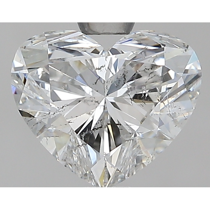 1.24 Carat Heart Loose Diamond, F, SI2, Super Ideal, GIA Certified | Thumbnail