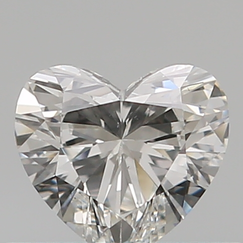 0.32 Carat Heart Loose Diamond, G, VS1, Super Ideal, GIA Certified