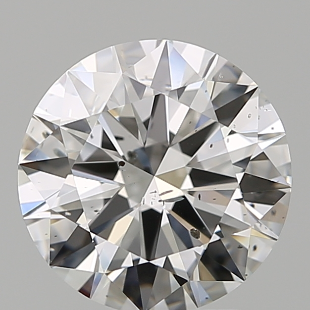 2.05 Carat Round Loose Diamond, F, SI2, Excellent, GIA Certified