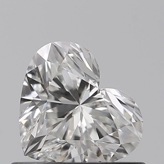 0.52 Carat Heart Loose Diamond, G, IF, Super Ideal, GIA Certified