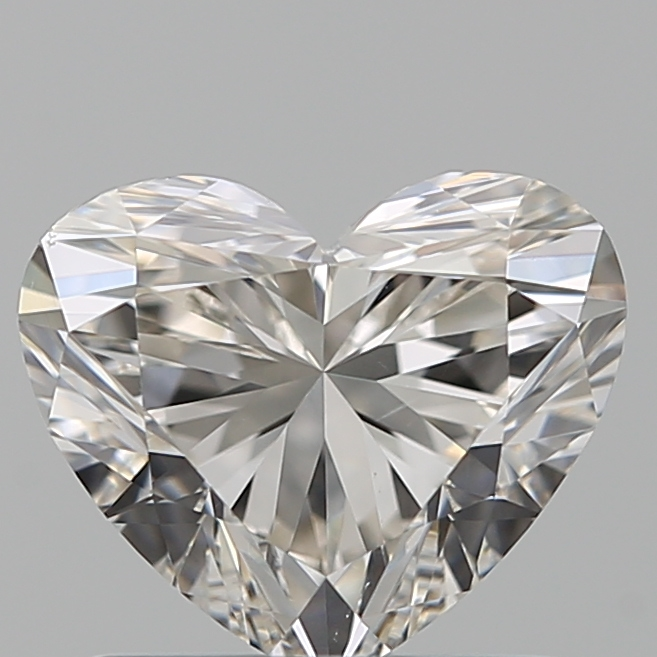 1.01 Carat Heart Loose Diamond, J, VS2, Super Ideal, GIA Certified
