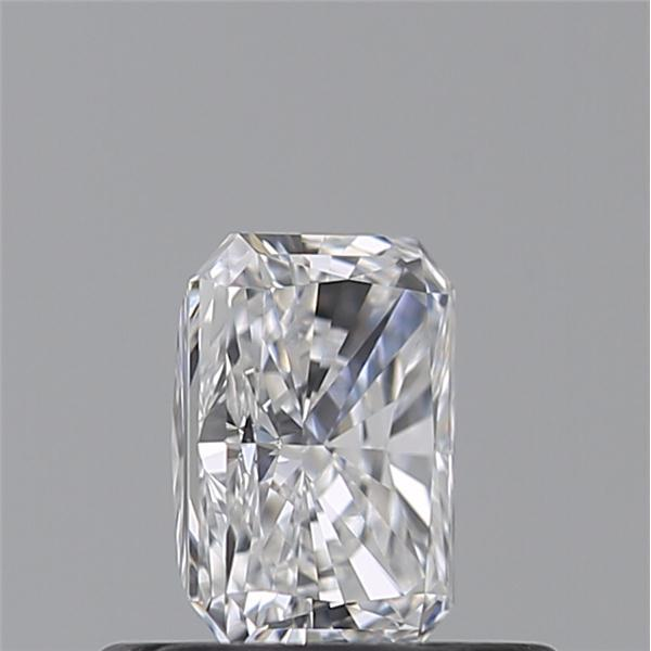 0.52 Carat Radiant Loose Diamond, D, IF, Super Ideal, GIA Certified