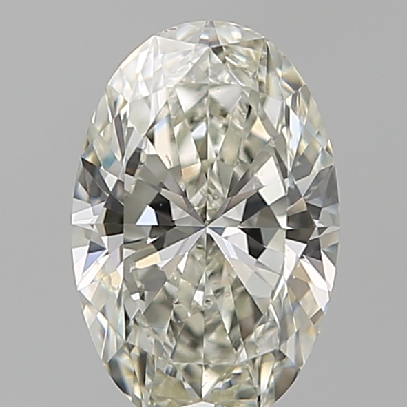1.05 Carat Oval Loose Diamond, J, SI2, Super Ideal, GIA Certified