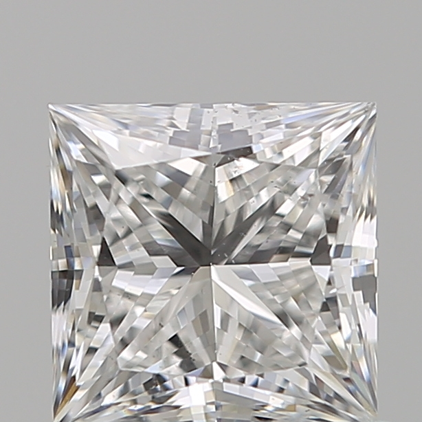 0.70 Carat Princess Loose Diamond, E, VS2, Super Ideal, GIA Certified | Thumbnail