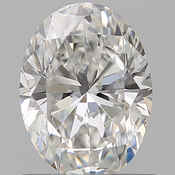 0.72 Carat Oval Loose Diamond, F, SI1, Ideal, GIA Certified | Thumbnail