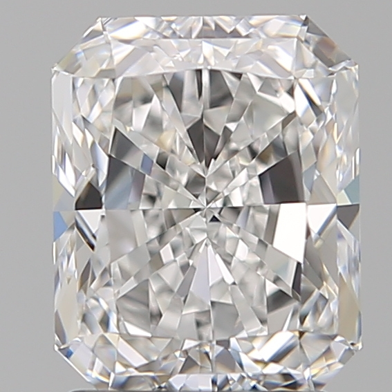 2.00 Carat Radiant Loose Diamond, D, VVS2, Super Ideal, GIA Certified