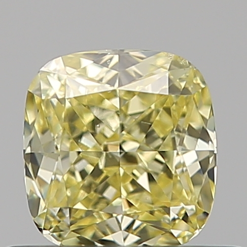 0.50 Carat Cushion Loose Diamond, FANCY, SI1, Ideal, GIA Certified | Thumbnail
