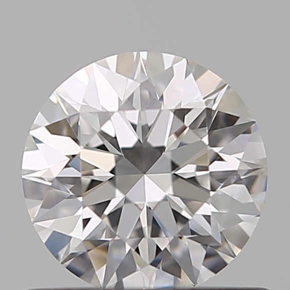 0.63 Carat Round Loose Diamond, F, VVS1, Super Ideal, GIA Certified