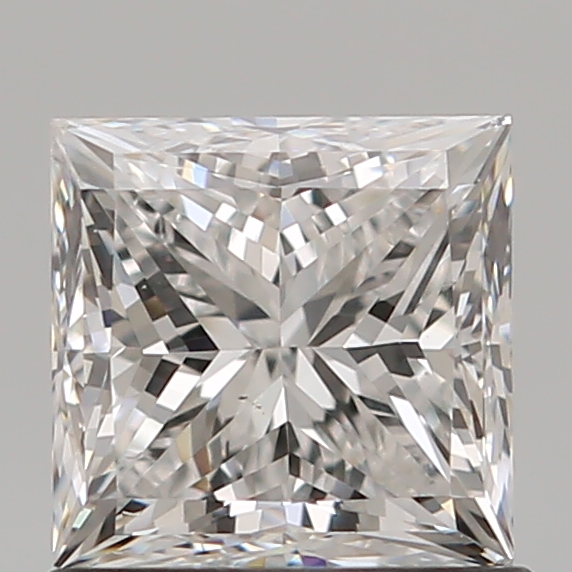 0.90 Carat Princess Loose Diamond, E, SI1, Ideal, GIA Certified