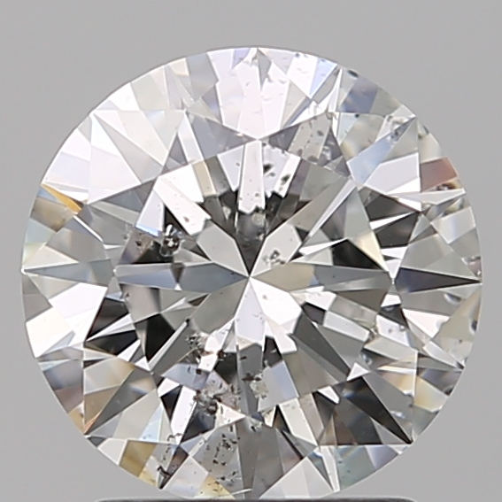 1.79 Carat Round Loose Diamond, F, SI2, Super Ideal, GIA Certified