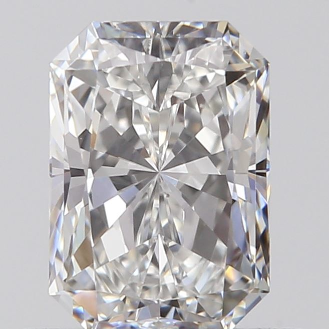 0.56 Carat Radiant Loose Diamond, F, VS1, Super Ideal, GIA Certified | Thumbnail