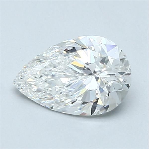 0.90 Carat Pear Loose Diamond, F, SI2, Excellent, GIA Certified