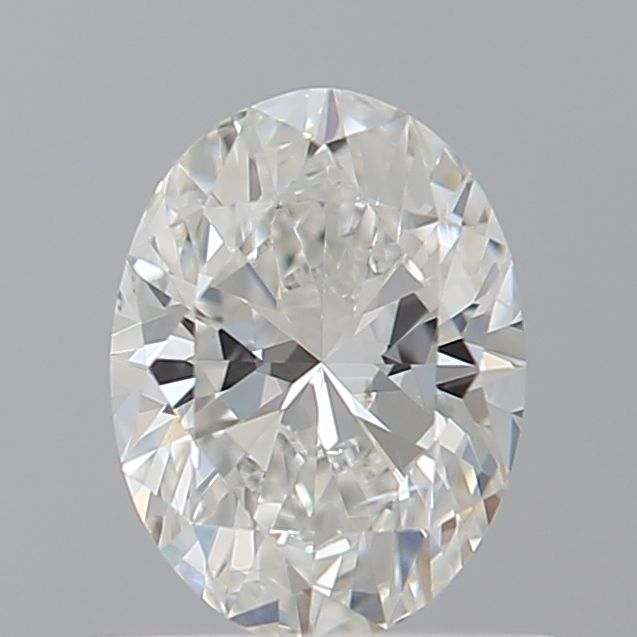 0.52 Carat Oval Loose Diamond, F, SI1, Super Ideal, GIA Certified
