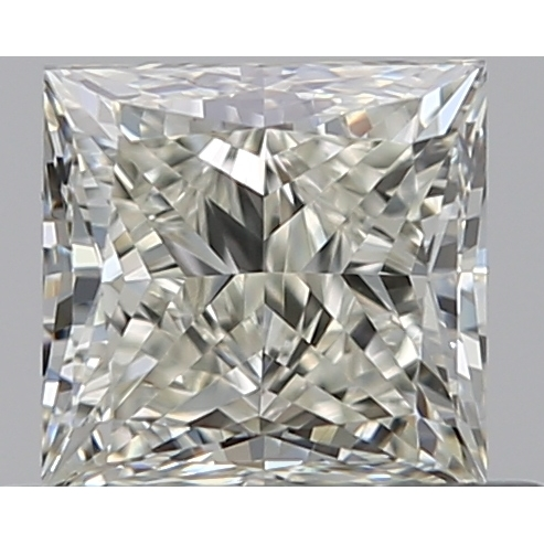 0.50 Carat Princess Loose Diamond, K, VS2, Ideal, GIA Certified