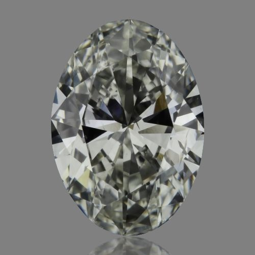0.61 Carat Oval Loose Diamond, G, SI2, Excellent, GIA Certified