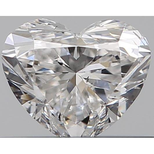 0.33 Carat Heart Loose Diamond, F, SI2, Ideal, GIA Certified
