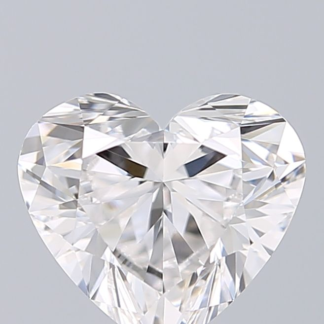 1.01 Carat Heart Loose Diamond, D, VVS2, Super Ideal, GIA Certified