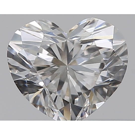 0.30 Carat Heart Loose Diamond, E, SI1, Ideal, GIA Certified | Thumbnail