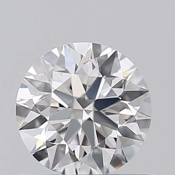 0.53 Carat Round Loose Diamond, D, IF, Super Ideal, GIA Certified