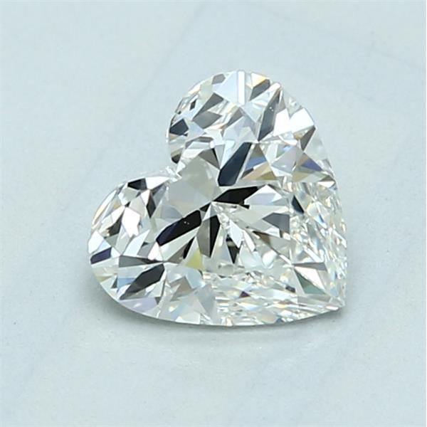 1.01 Carat Heart Loose Diamond, I, VS1, Ideal, GIA Certified