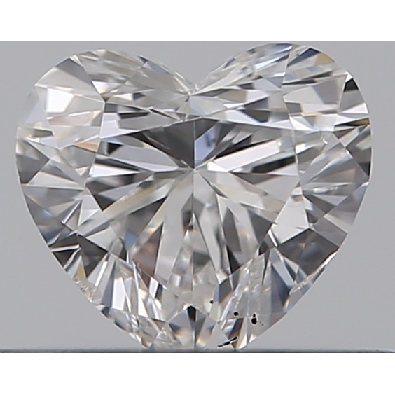0.31 Carat Heart Loose Diamond, E, SI1, Ideal, GIA Certified