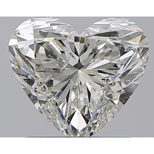 1.01 Carat Heart Loose Diamond, I, SI2, Super Ideal, GIA Certified