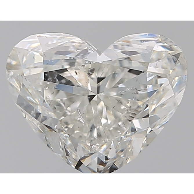2.00 Carat Heart Loose Diamond, I, SI2, Ideal, GIA Certified