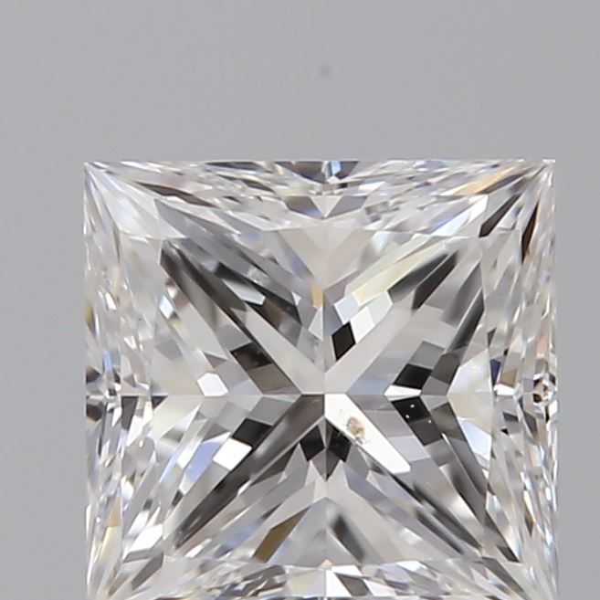 0.70 Carat Princess Loose Diamond, D, SI1, Super Ideal, GIA Certified
