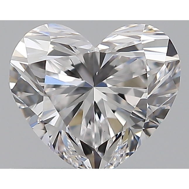 0.51 Carat Heart Loose Diamond, D, VS1, Super Ideal, GIA Certified
