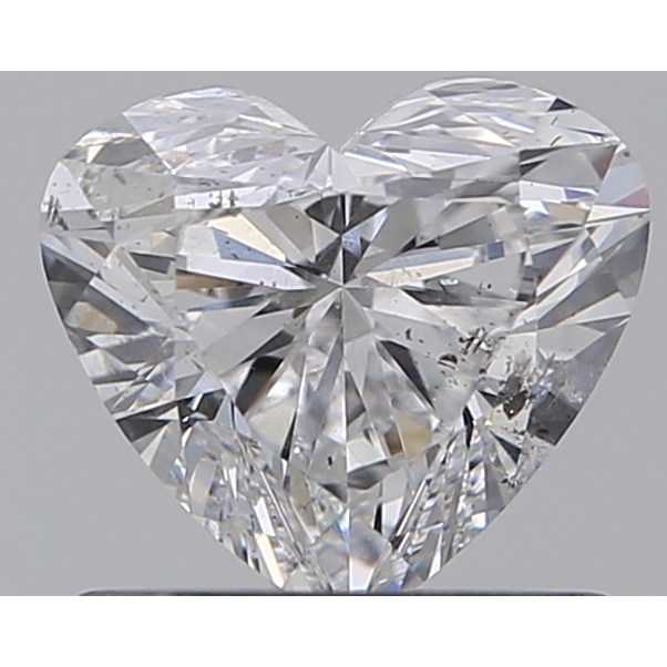 0.75 Carat Heart Loose Diamond, D, SI2, Super Ideal, GIA Certified