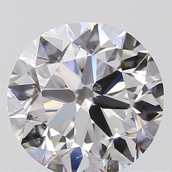 0.46 Carat Round Loose Diamond, D, SI1, Excellent, GIA Certified