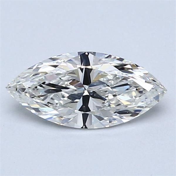 0.71 Carat Marquise Loose Diamond, H, IF, Super Ideal, GIA Certified