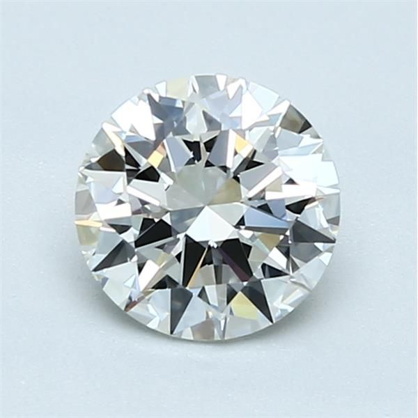 1.00 Carat Round Loose Diamond, H, IF, Excellent, GIA Certified