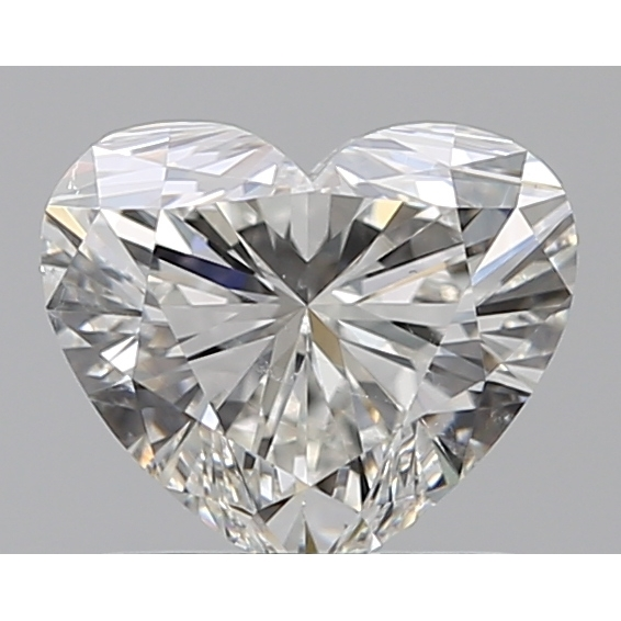 1.02 Carat Heart Loose Diamond, H, SI1, Super Ideal, GIA Certified