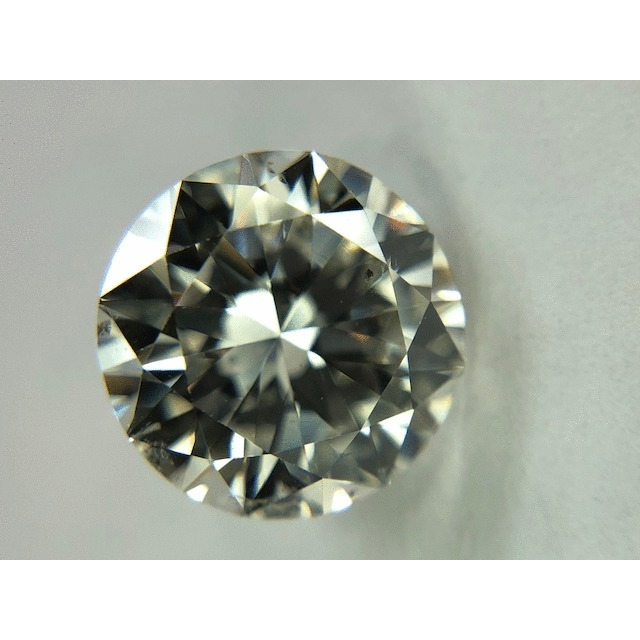 2.10 Carat Round Loose Diamond, I, SI2, Good, GIA Certified