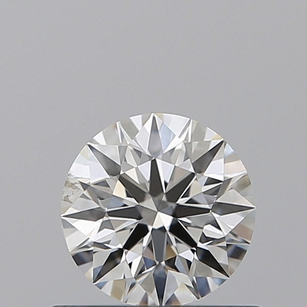 0.55 Carat Round Loose Diamond, F, SI2, Excellent, GIA Certified