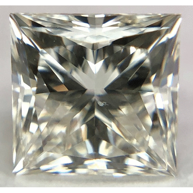 0.96 Carat Princess Loose Diamond, K, SI2, Ideal, GIA Certified
