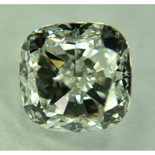 1.01 Carat Cushion Loose Diamond, H, VS2, Very Good, GIA Certified