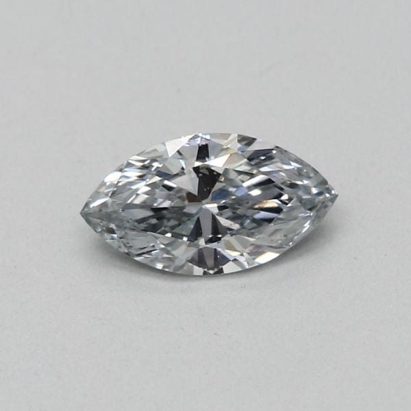 0.24 Carat Marquise Loose Diamond, Fancy Light Gray-Blue, VS2, Excellent, GIA Certified