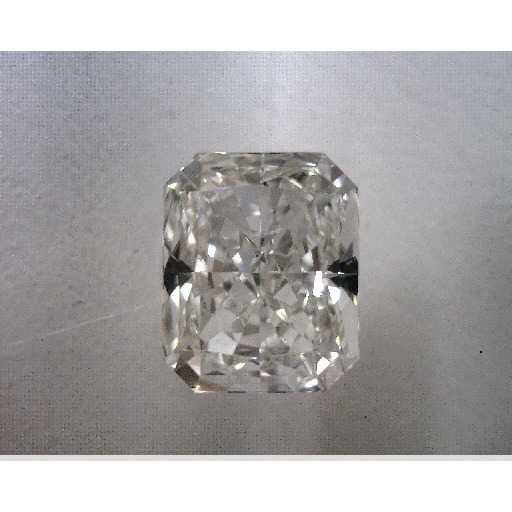 0.79 Carat Radiant Loose Diamond, H, IF, Very Good, GIA Certified