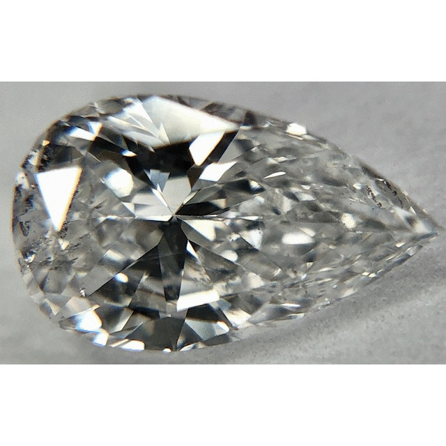 0.54 Carat Pear Loose Diamond, E, SI2, Excellent, GIA Certified
