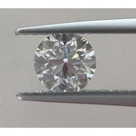 0.90 Carat Round Loose Diamond, E, SI1, Excellent, GIA Certified